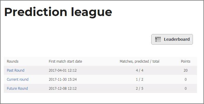 WordPress Sports plugin documentation | JoomSport com