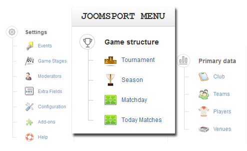 joomsport structure